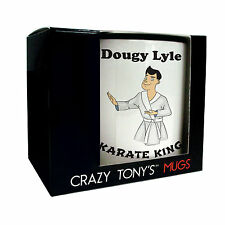 Mens Personalised Karate Gift Ideas, Karate Mug, Crazy Tony's, Karate Man Gifts