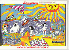 Phonecards 1994 Summertime set 4 x $2 limited edition magnetic & UV check pack
