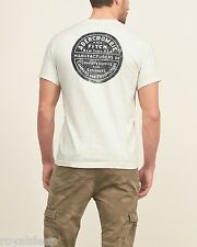 ABERCROMBIE & FITCH Printed Pocket Logo Graphic Tee Medium *BNWT*  A&F T-Shirt