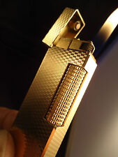 Dunhill Rollagas Lighter - Gold Plated - Serviced - Feuerzeug - Briquet