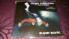 Music instructor f. flying steps / Super Sonic, Incl. Brainbug Remix  - Maxi CD
