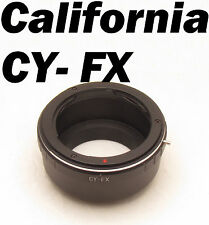 Contax Yashica CY C/Y Mount Lens Adapter Ring Tube to Fujifilm FX X Pro1 XE2 XM2