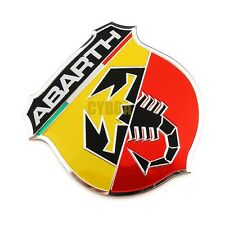1 Vinyl Stickers Auto Car ABARTH ( Fits Fiat ) Scorpion Tuning Race Bike Wheels