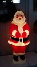 "Rare Vintage Christmas 31"" Beco Santa Lighted Blow Mold Yard Decoration"