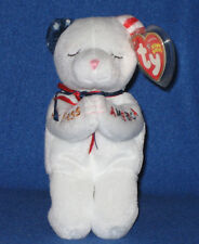 TY AMERICAN BLESSING the BEAR BEANIE BABY - MINT with MINT TAG