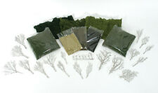 COMPLETE LANDSCAPE STARTER KIT- WOODLAND SCENICS-ASSORTMENT OF SCENERY PRODUCTS