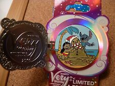 Disney Mickey's Very Merry  Christmas party 2016 LE pin *LILO & STITCH *