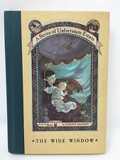 A Series of Unfortunate Events #3: The Wide Window by Lemony Snicket