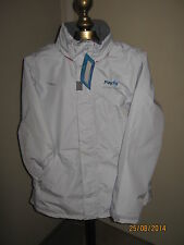 "Women's PAYPAL Tribord Gray Jacket with Hood XS(NWT) ""Greater Europe"""