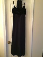 NIGHT WAY Collections long length formal navy dress size 10