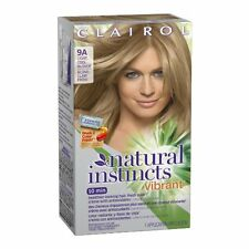 Clairol Natural Instincts Vibrant Hair Color, Light Cool Blonde #9A