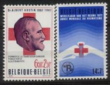 Belgium**RED CROSS-RHUMATISM-2vals-CROIX ROUGE-1976-MNH-RODE KRUIS-CRUZ ROJA
