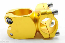 PROMAX MOUNTAIN BIKE DOWNHILL STEM 40mm Gold/Yellow