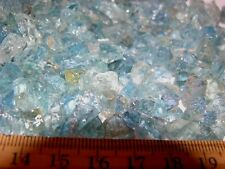 Aquamarine all natural gem rough crystal Brazil 8-14 pieces 3-10mm 25 carat lots
