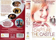 I CAPTURE THE CASTLE VHS PAL ROSE BYRNE,BILL NIGHY,HENRY THOMAS,ROMOLA GARAI