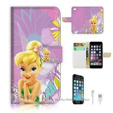 iPhone 6 Plus (5.5') Flip Wallet Case Cover! S8462 TinkerBell