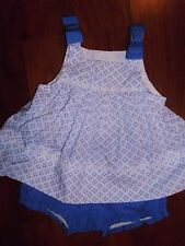 3 6 M Gymboree 2pc LOT Blue Outfit Swing Top Coastal Breeze New Baby Girl NWT