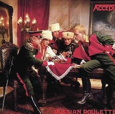 Accept Russian Roulette Remastered Import UDO Wolf Hoffmann HTF 2 Bonus Tracks