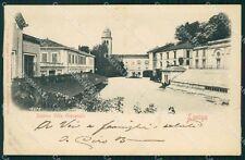 Vicenza Lonigo Villa Giovanelli PIEGA cartolina QT2470