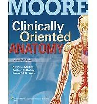 Free Ship -Clinically Oriented Anatomy by Keith L. Moore 7ed International ED