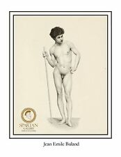 ACADEMIC NUDE ART MALE POSTER YOUNG MAN NAKE BODY GAY ART PRINT GAY INTEREST