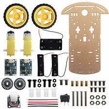 2WD Chassis Kit Robotic Car TP4056 18650 Battery Holder for Arduino Robot