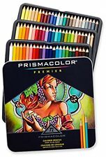 Art Pencil Set Prismacolor Premier Colored 72 Drawing Soft Pencils In Tin Case