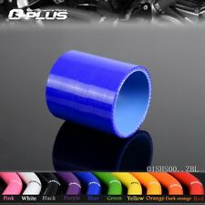 "1 1/2"" 38mm Silicone Straight Hose coupler Turbo Intercooler Pipe Hoses BL"