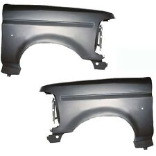 New Front Quarter Panels Fenders Set of 2 LH & RH Side, For F150 Truck F250 Pair