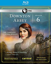 Downton Abbey: Season 6 (Blu-ray Disc, 2016 with Slip Cover)