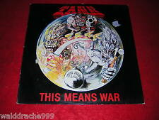 Tank - This Means War, RR9907 Vinyl LP 1983, 1. Press