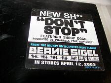 "BEANIE SIGEL DON'T STOP w/SNOOP DOGG 12"" Single NM Damon Dash 2005 PROMO"