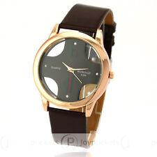 ITALIA MODA Cruz Hombres Señora cuarzo reloj de pulsera cuero Quartz Watch Men
