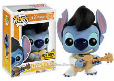 "LILO & STITCH ELVIS #127 Ukulele Funko Pop 4""  Vinyl figure Disney Hot Topic EXC"