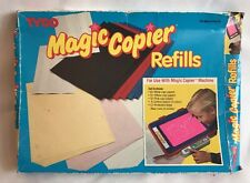 1990 Tyco Magic Copier Refills Copy Carbon Paper Kids Machine Write Strips