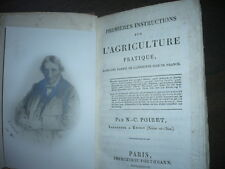 L'AGRICULTURE PRATIQUE ile de France 1818
