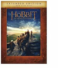 The Hobbit An Unexpected Journey Extended Edition (DVD), New, Free Shipping