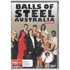 DVD BALLS OF STEEL AUSTRALIA SEASON ONE S1 2-DVD SET NO REGION RESTRICTION [BNS]