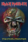 POSTER - IRON MAIDEN - Final Frontier Logo 22 x 34 - LICENSED NEW