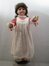 26 inch ANTIQUE GERMANY mold 6-1/2 JDK Kestner Bisque doll w/ Jointed Body