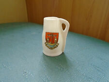 FOLKESTONE CREST - LINCOLN JACK - GOSS CRESTED CHINA