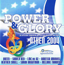 "POWER & GLORY ""Die official Compilation ATHEN 2004"" CD NEW & OVP EuroSport"