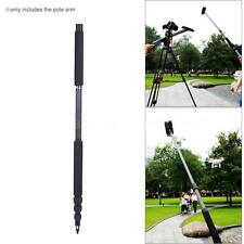 3.0M Carbon Fiber 4 Sections Telescoping Microphone Boom Pole Extension Arm P1H2