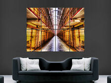 ALCATRAZ PRISON THR ROCK SAN FRANCISCO BAY  WALL POSTER ART PICTURE PRINT LARGE