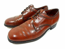 VELVET EEZ MENS OXFORDS SHOES BROWN LEATHER DRESS SIZE 10.5 D (MEDIUM)