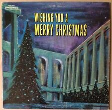 Wishing You A Merry Christmas - EX Vinyl LP Ed Sullivan Percy Faith Liberace ...