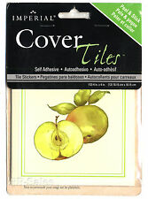 Cover Tiles 12 Fruit Apple Cherry Stick Up Appliques Stickers Kitchen Tile Decal
