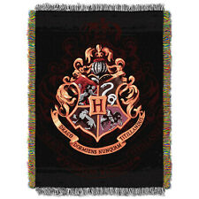 Harry Potter Hogwarts Crest Tapestry Throw