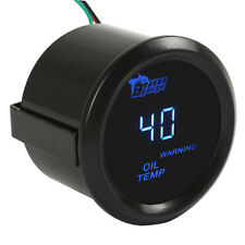 2 Inch 52mm 40 - 150 Celsius Car Blue LED Electronic Oil Temp Gauge Meter