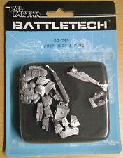 Ral Partha BattleTech 20-749 Jump jets & fins (Mint, Sealed) * Unseen *